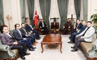 Beyoğlu Belediye Başkanı Demircan, Vali Soytürk'ü ziyaret etti