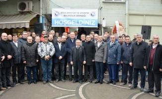 Biga Amatör ve Sportif Balıkçılık Derneği'nin açılışı gerçekleşti