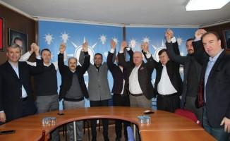 Biga'da  Cumhur İttifakı Bülent Erdoğan'da birleşti