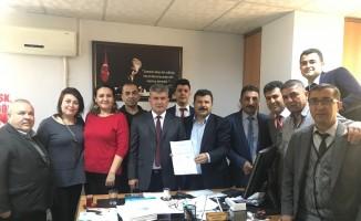 Büro Memur-Sen'de yeni başkan Mehmet Tanrıöver