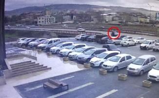 Bursa'da dehşet veren kaza kameralara yansıdı