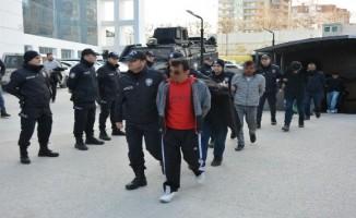 Bursa'da ki tarihi operasyonda 121 tutuklu