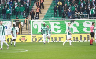 Bursaspor için tehlike çanları çalıyor : 0 - 2