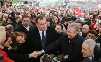 """Çankaya Belediye Başkan adayı Taşdelen: """"İkinci dönemde çok büyük işlere imza atmaya devam edeceğiz"""""""