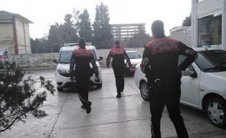 Cezaevi firarisi polis ekiplerini harekete geçirdi