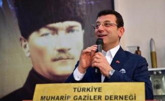 """CHP İstanbul Büyükşehir Belediye Başkan adayı İmamoğlu: """"Gazilerin anılarını topluma anlatıp öğretmeliyiz"""""""