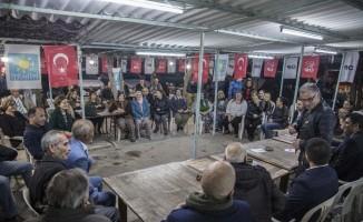CHP Kuşadası Belediye Başkan Adayı Ömer Günel, Yaylaköylülerle buluştu