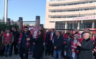 CHP'li muhalifler Genel Merkeze geldi