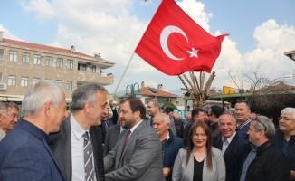 """Cumhur İttifakı adayı Yazıcı; """"Marmaris beş yıl içinde Türkiye'nin en iyi kasabası olacak"""""""