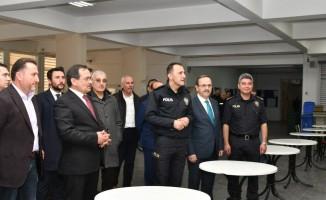 Cumhur İttifakı adayları polis okulunda