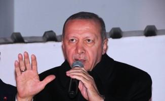 """Cumhurbaşkanı Erdoğan: """"Bay Kemal bizim kuyruklarımız yokluk değil, varlık kuyrukları"""""""