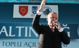 Cumhurbaşkanı Erdoğan: Milletimize hasretle beklediği müjdeli haberleri vereceğiz