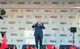 """Cumhurbaşkanı Erdoğan: """"Uzun yıllardır milletimizin hasretle beklediği imar meselesini çözmek zorundayız"""" (1)"""
