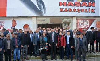Demokrat Parti Genel Başkanı Gültekin Uysal, Dalaman ve Ortaca'yı ziyaret etti