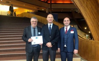 """Edremit Belediyesi ikinci kez Avrupa'dan """"12 Yıldız"""" şehri ünvanını aldı"""