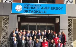 Eğirdir Mehmet Akif Ersoy Ortaokulunda Özel Eğitim Sınıfı açıldı