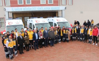 Elazığ'da ambulans sayısı 62 oldu