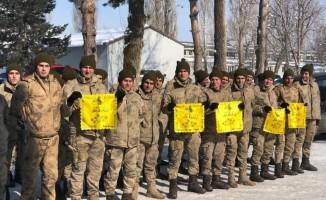 Emanetler Uzman Çavuş Mehmet Akif Sert'in Karakoluna ulaştı