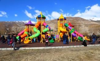 Erzincan Belediyesi'nden Ekşisu'ya estetik dokunuş