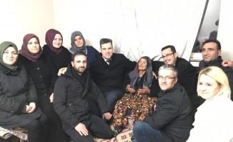Esgin'den 119 yaşındaki Fatma nineye ziyaret