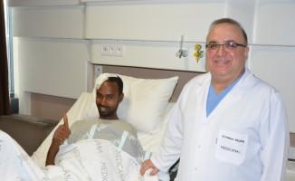 Etiyopya'dan geldi, Bursa'da sağlığına kavuştu
