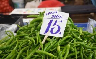 Fiyatı düşmeyen tek sebze sivri biber