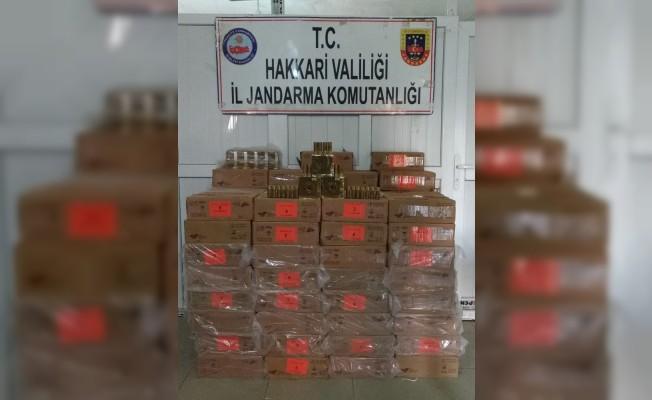 Hakkari'de 24 bin adet av tüfeği fişeği ele geçirildi