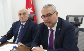 İçişleri Bakan Yardımcısı Prof. Dr. Tayyip Sabri Erdil Muş'ta