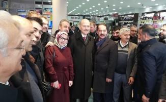 İçişleri Bakanı Erzincan'da esnafı ziyaret etti