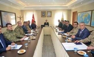Iğdır'da seçim güvenliği toplantısı yapıldı