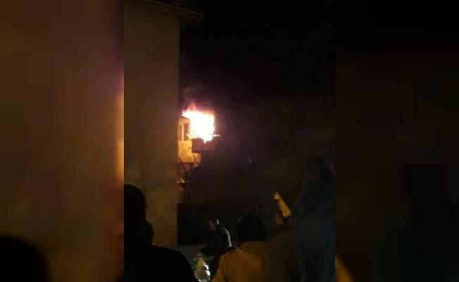 İnegöl'de korkutan yangın: 1 yaralı