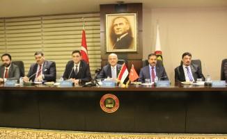 Irak Ankara Büyükelçisi, GSO'da sanayicilerle bir araya geldi