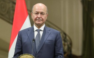 Irak Cumhurbaşkanı'ndan Trump'a yanıt