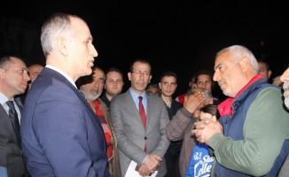 İzmir'de kayaların düştüğü bölgede yenileme çalışması yapılacak