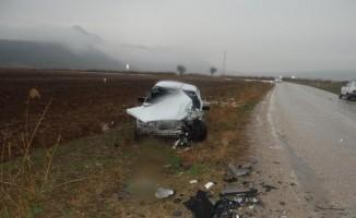 Kazada ağır yaralanan yaşlı adam 15 gün sonra yaşamını yitirdi