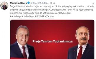 Kılıçdaroğlu, Antalya'ya geliyor