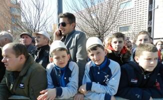 Kosova ordusu ilk kez görücüye çıktı