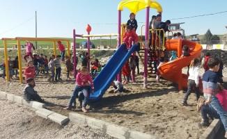 Köy okullarındaki öğrenciler SODES ile eğleniyor