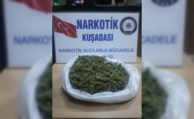 Kuşadası'nda uyuşturucu operasyonu; 3 gözaltı