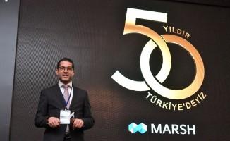 Marsh'tan Türkiye'deki 50'nci yılında yatırım sinyali