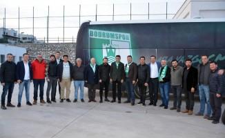 Mehmet Tosun, Bodrum Belediye personelinin içini rahatlattı