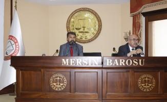Mersin Barosu'nun staj eğitimlerinin ikinci dönemi başladı