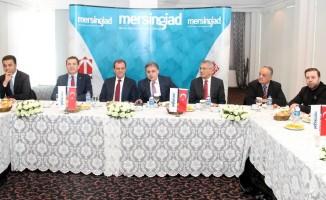 Mersin GİAD, CHP'li adayları ağırladı