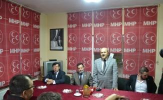 MHP Biga İlçe Başkanlığına Saadettin Saat atandı