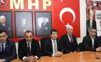 MHP Genel Başkan Yardımcısı Aksu Gümüşhane'de