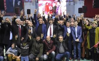 MHP Gümüşhane'de aday tanıtım toplantısı düzenledi