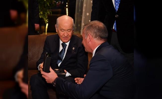 MHP İl Başkanı Yüksel Aydın, 50. Yıl Törenlerine katıldı