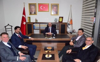 MHP'den Başkan Çetinbaş'a nezaket ziyareti