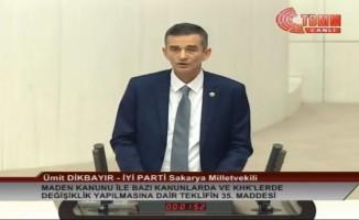 Milletvekili Dikbayır'dan 'beka sorunu' iddialarına cevap