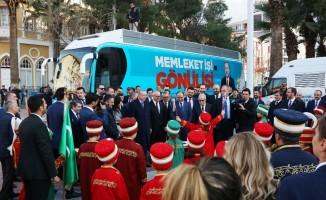 Minik mehteranlardan Cumhurbaşkanı Erdoğan'a konser
